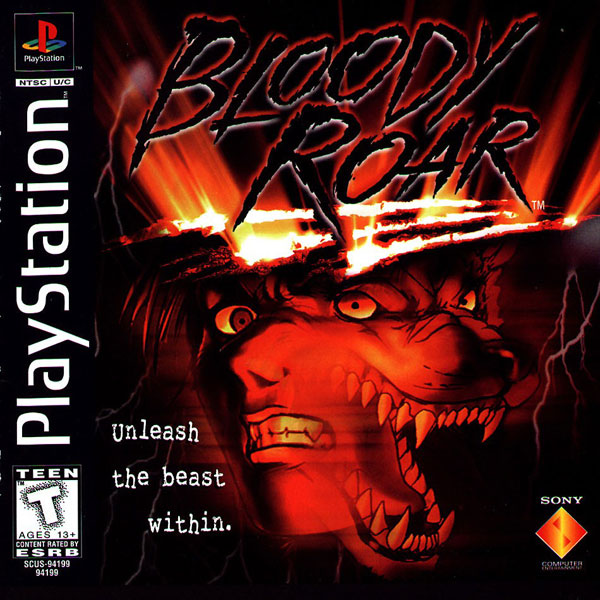 Bloody Roar [U] Front Cover
